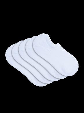 womens white sneaker socks 5 pack - underworks
