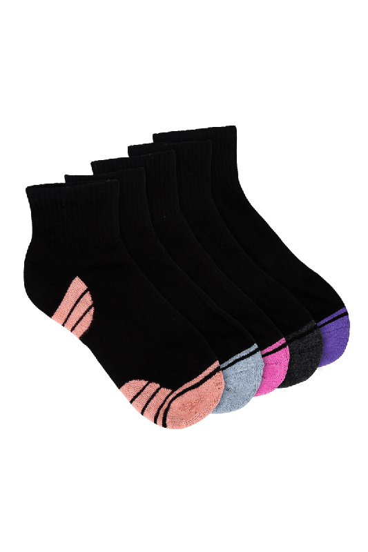 Women's Anklet Sport Socks 5 Pack