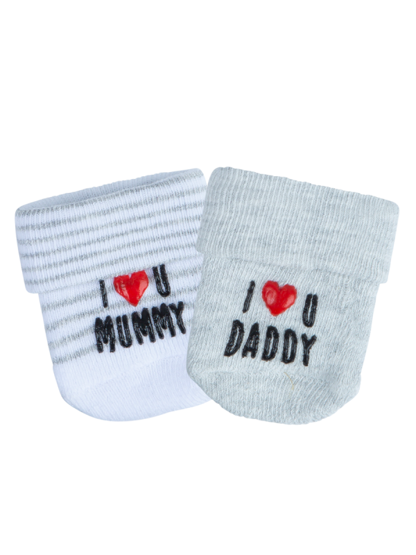 Infant's Terry Tot Socks 2 Pack