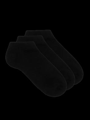 Women's No Show Bamboo Socks - 3 Pack