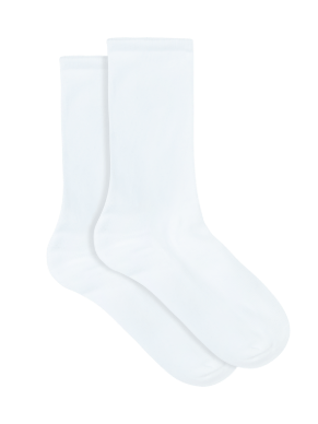Women's White Socks All Day Cotton Rich - 2 Pack