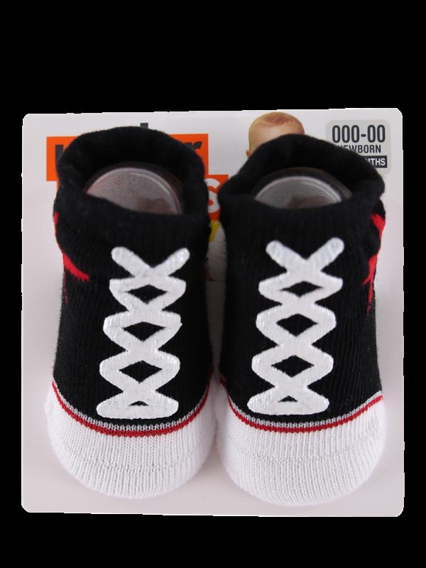 Baby Bootee Sneaker Socks