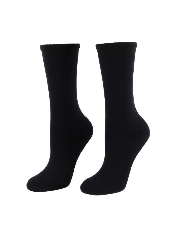 WOMENS ALL DAY WOOL BLEND HEAT RETENTION SOCKS 2 PACK