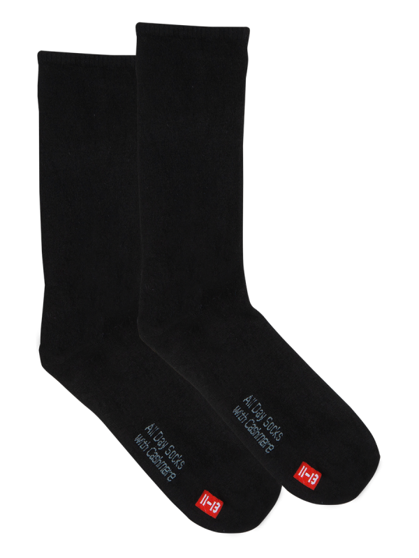 Men's All Day Socks Ultrafine with Cashmere Crew 2 pack