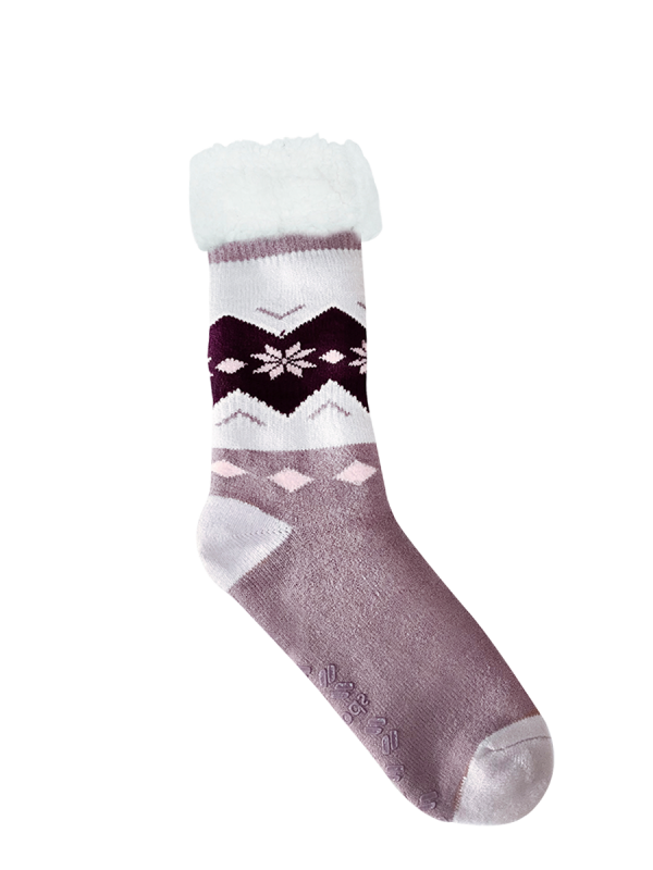 Women's Heat Bods Extra Warm with Sherpa Crew Socks