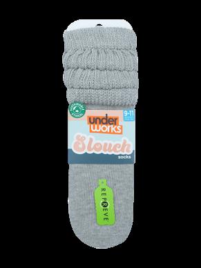 womens grey slouch socks | Underworks